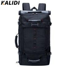 KALIDI Brand Stylish Travel Large Capacity Backpacks Male Luggage Shoulder Bags