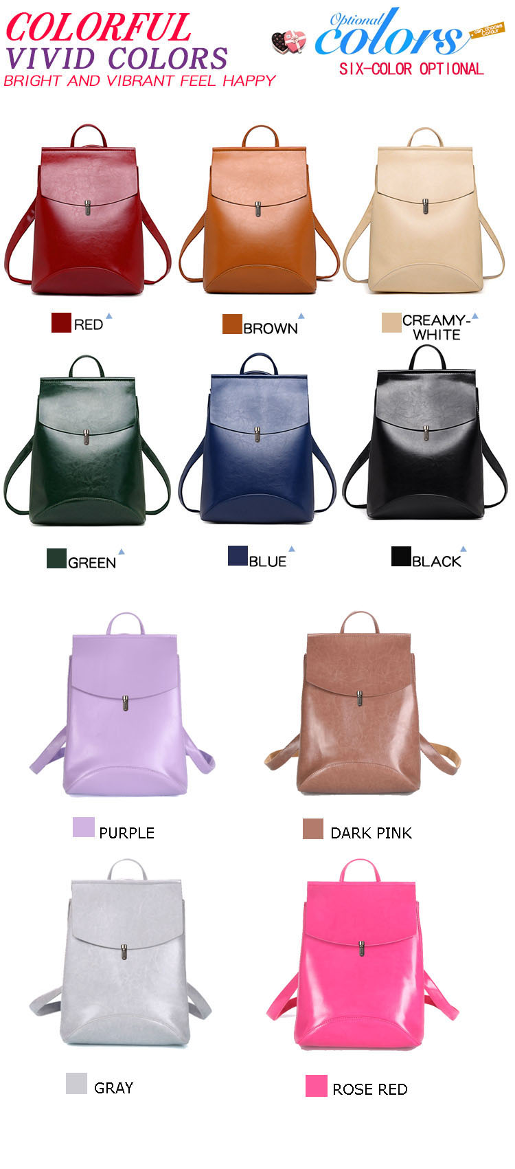 HTB12cENQ4naK1RjSZFtq6zC2VXak HOT Fashion Women Backpack High Quality Youth Leather Backpacks for Teenage Girls Female School Shoulder Bag Bagpack mochila