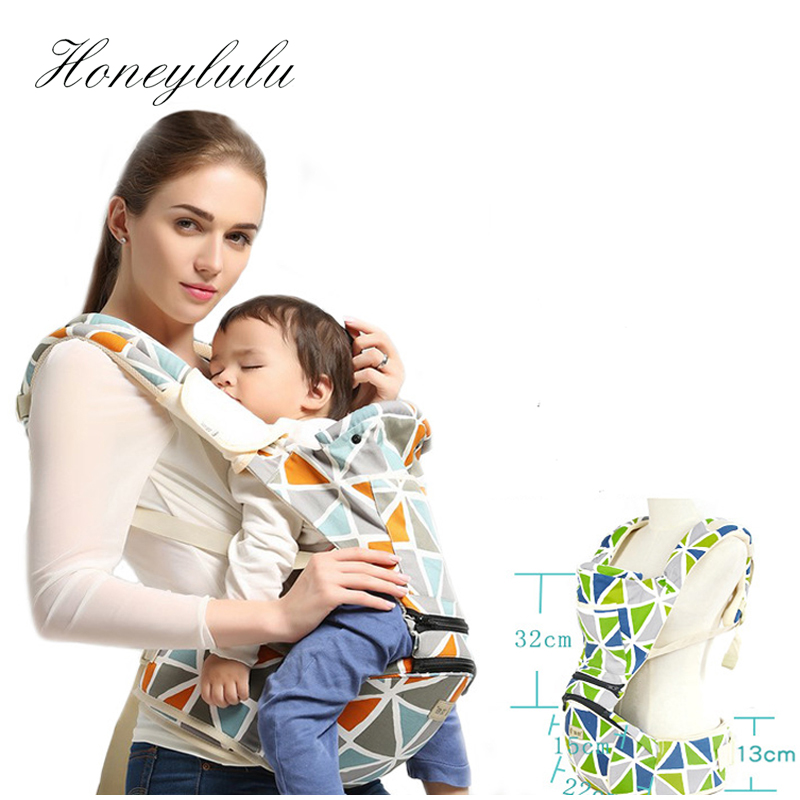 Honeylulu Ergonomic Backpack Baby Carrier Hipseat Sling For Newborns Adjustable 3-30 Months Kangaroo For Newborns Ergoryukzak