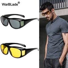WarBLade New Sport Sun Glasses HD Vision Sunglasses Men Myopia Mirror Night  Driving Sunglass Over Wrap Arounds Eyewear For Man