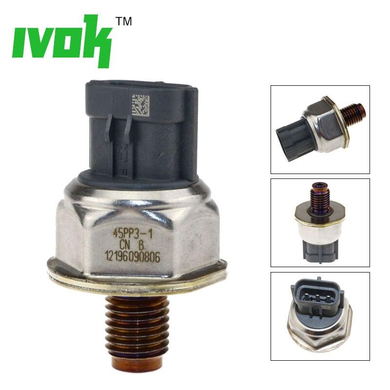Original Sensor de Trilho De Combustível Regulador de Pressão alta Para Nissan Navara Pathfinder D40 2.5 Diesel 45PP3-1 1465A034A 8C1Q9D280AA