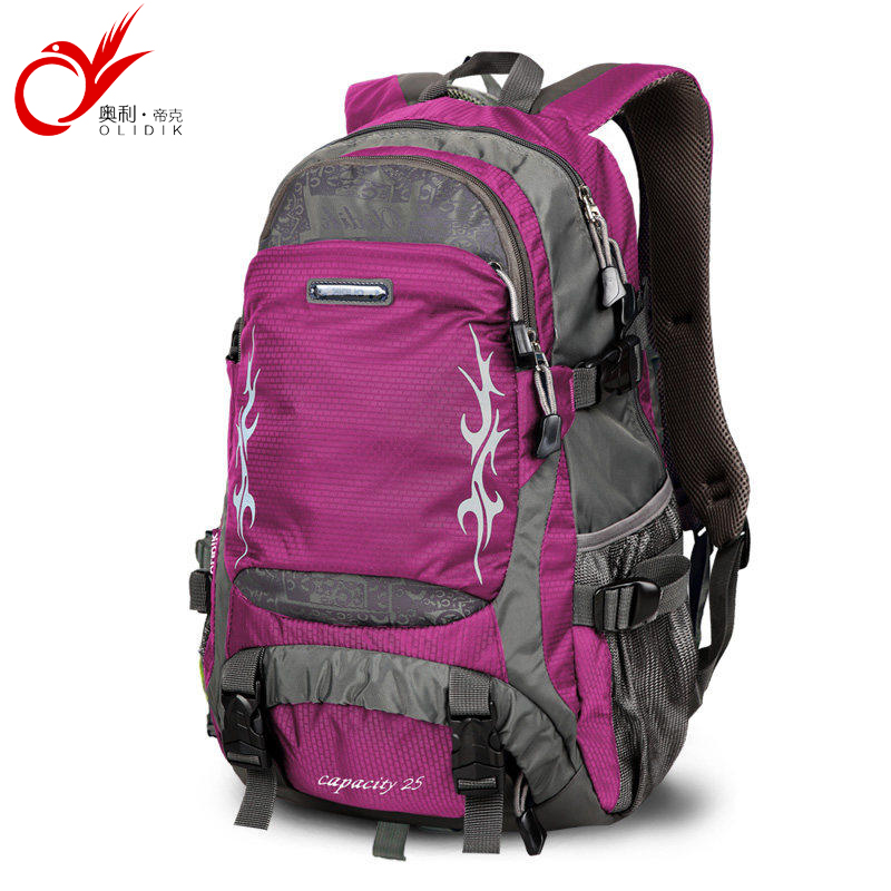 Detail Feedback Questions about OLIDIK fashion women backpacks waterproof nylon  backpack unisex men s travel bag casual backpacks 35L 25LTrekking Back Bags  ... b26a6c1967205