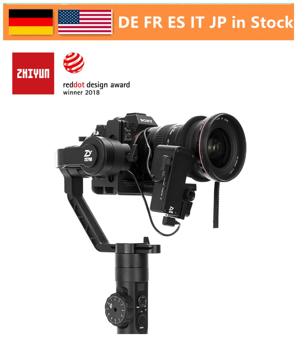 Zhiyun Crane 2 3-Axis Gimbal Stabilizer for All Models of DSLR Mirrorless Camera Canon 5D2/3/4 with Servo Follow Focus цена