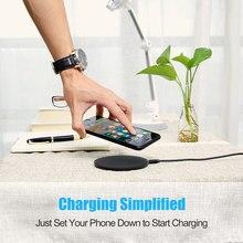 Qi Wireless Fast Desktop Wireless Charger 5V Ultra-light Charging Pad