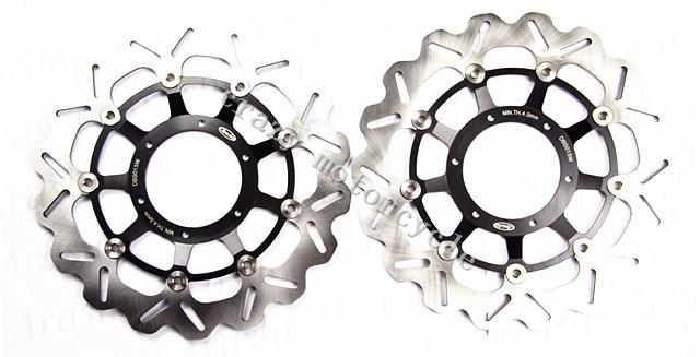 Бесплатная доставка мото передний Тормозной диск ротора для Honda CBR1000RR 04-05 CB1284 CB1300 03-08 CBR1000 ЦБ РФ 1000rr ЦБ 1284 1300