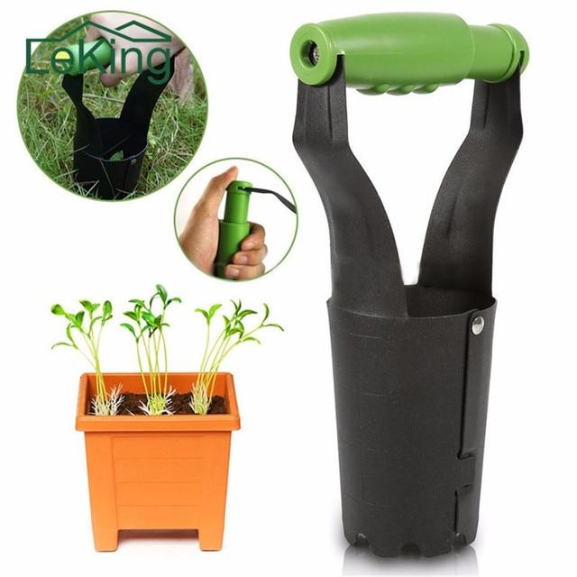 Garden Iron Plants Seedling Transplant Tools 23cm Handheld Transplanter  Seedlings Gardening Tool Garden Supplies Garden Tools