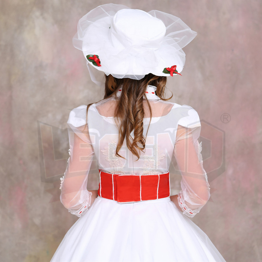 Mary Poppins Costume Dress Wedding Dress Costume Suit Adult Womenu0027s Halloween Carnival Cosplay Costume-in Movie u0026 TV costumes from Novelty u0026 Special Use on ... & Mary Poppins Costume Dress Wedding Dress Costume Suit Adult Womenu0027s ...