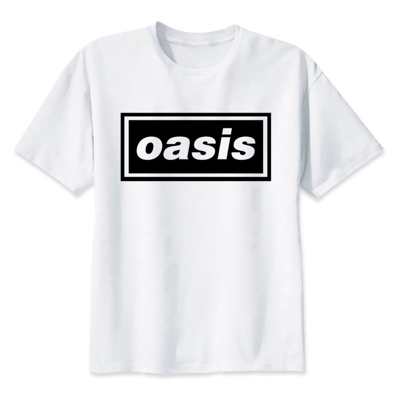 Music Rock Band Oasis t shirt Men casual short T-Shirts Fashion Print T-Shirts Short Sleeve O Neck Tees MMR568