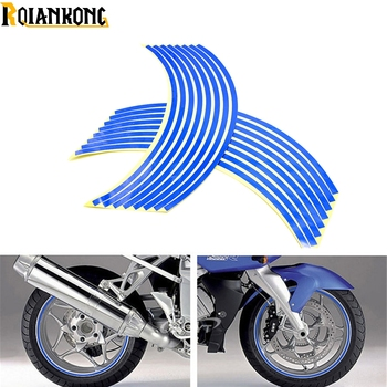For BMW K1200R K1300 S/R/GT SPORT K1200S K1300R motorcycle sticker Colorful motor wheel stickers Reflective Rim Strip image