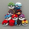 1 шт. Бесплатная доставка Высокое Качество Pokemon go Плюшевые 1:1 Poke Бал Пикачу Pokeball Косплей карты Игрушки для детей Рождество подарок