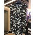 Topos homens tanque roupas homens hip hop kanye west Yeezy camo camuflagem Passeio legal zíper Lateral roupas colete