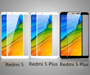 Image 5 - Xiaomi redmi 5 plus glass redmi5 화면 보호기 전체 덮개 흰색과 검은 색 xiaomi redmi 5 강화 유리 보호 필름
