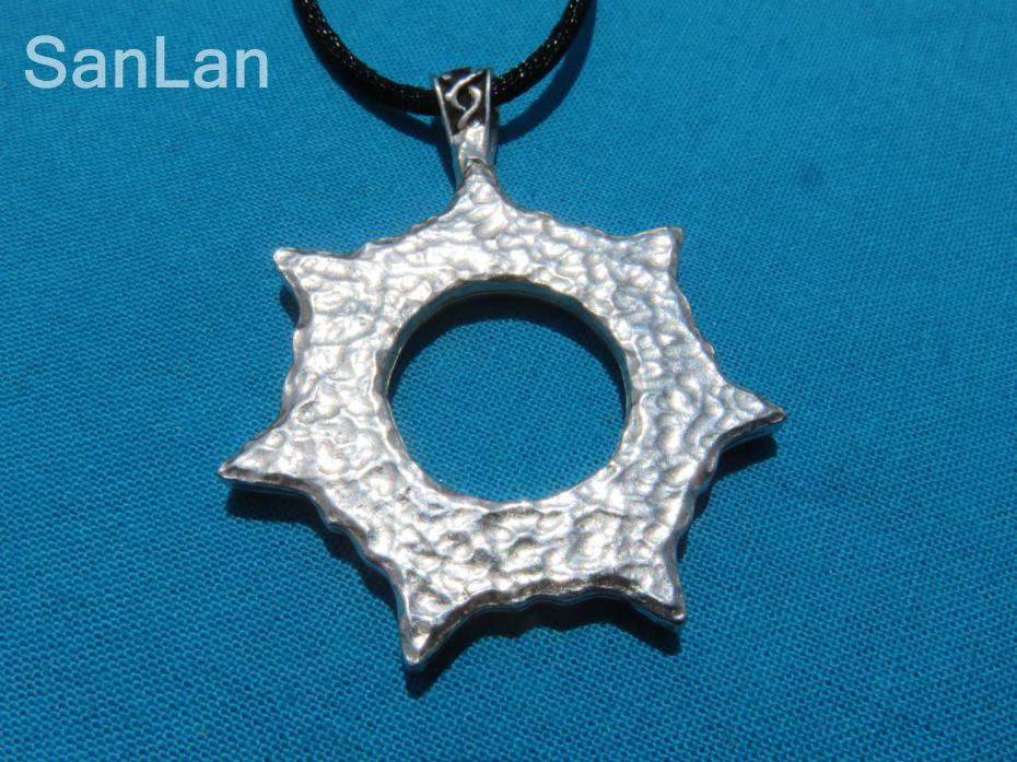 2016 men fashion jewelry hot sale necklace heptagram magical 7 2016 men fashion jewelry hot sale necklace heptagram magical 7 pointed star faery elfin pendant sanlan in pendants from jewelry accessories on aloadofball Gallery