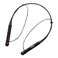 Sport Earphone Bluetooth Wireless In Ear Wire Control Sport Neckband Magnetic Suction Headphone With Microphone For