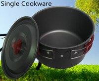 Nueva Llegada Aleación De Aluminio Sopa 3L Olla Sola Olla de Camping Utensilios de Cocina Utensilios de cocina de Camping Al Aire Libre Cocina Olla De Titanio