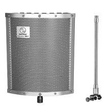 Neewer легкий and Портативный isolati On microph On e щит с моноблочной может использоваться On вокал/барабаны/ гитара/вудвиндс/акустическая
