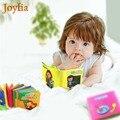 Детская цветная тканевая книга с рисунками животных  мягкая обучающая детская игрушка  развитие интеллекта  игрушки для новорожденных!