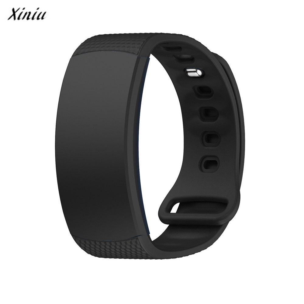 Xiniu Silicone Strap Watchband Luxury Watch Replacement Band For Samsung Gear Fit 2 SM-R360 Wristband Relogio luxury silicone watch replacement band strap for samsung gear fit 2 sm r360 wristband 100