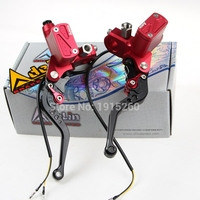 PX6 CNC hydraulic brake clutch pump master cylinder lever Adelin Cable Clutch universal motorcycle motorbike handle