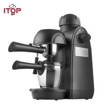 ITOP Electric 5Bars Coffee Makers Cappuccino Espresso Coffee Machine 2 Cups Automatic Milk Foam Maker 110V 220V