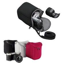 Камера сумка для Panasonic DMC GF3 GF5 GF6 GF7 GF8 GF9 GF10 GX7 GX80 GX85 Lumix GX8 LX100 LX7 LX5 LX3 GM1 GM2 GM5 с ремешком