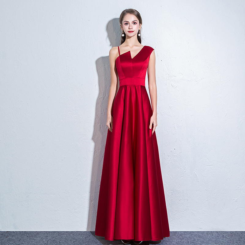 Sexy Sleeveless Party Dress Women Elegant Asymmetrical Off Shoulder Long Satin Dresses Female Slim A-line Maxi Dress Vestidos silvercell women sexy off shoulder club dress fashion knitted elastic sweater slim bodycon dress vestidos
