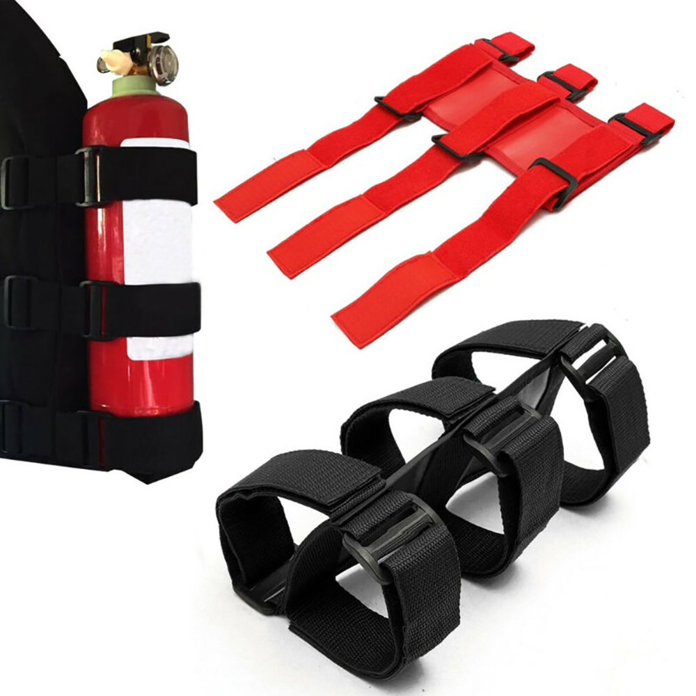 Automobile Car Fire Extinguisher Fixing Holder Belt For Jeep Wrangler Car Fire  Extinguisher Belt