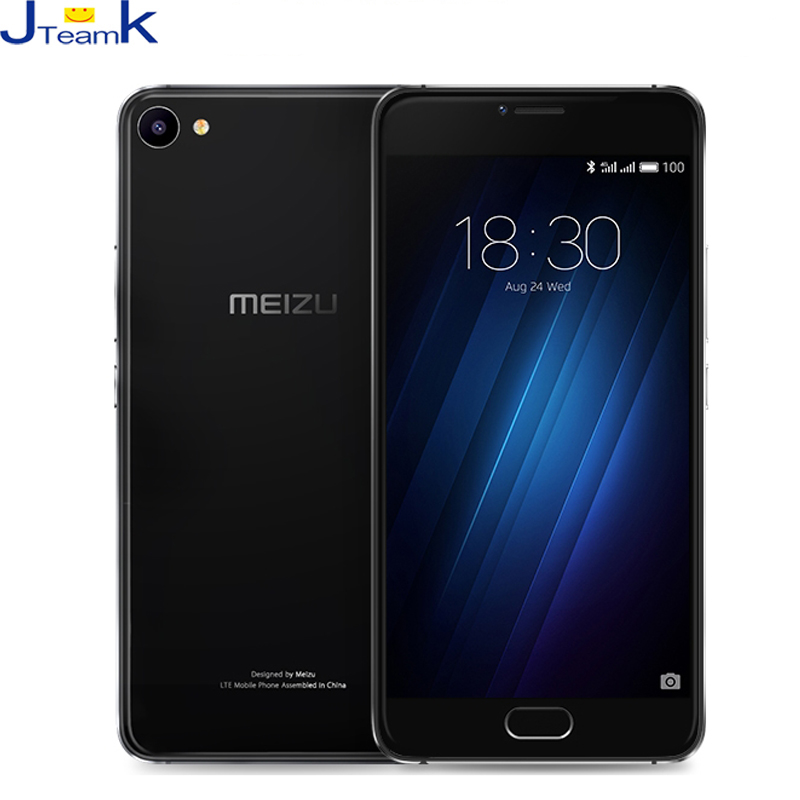 Цена за Meizu U20 16 ГБ U685C Глобальной Прошивки 4 Г LTE Мобильный Телефон стекло Тела Helio P10 Окта основные 1.8 ГГц 5.5 Дюймов 1920 * 1080pix экран