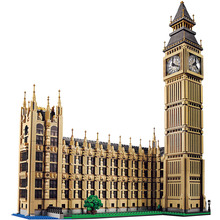 Technic Building Blocks Compatible LegoINGlys Architecture Big Ben City Street View Series  World Large Famous House 4164 Pcs