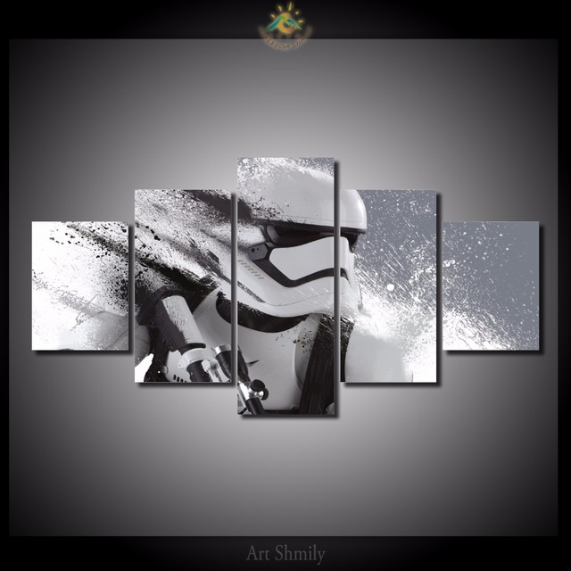Stormtrooper Canvas for Home Decoration