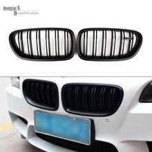 Замена ABS Материал M5 стиль Передняя Решетка Для BMW F10 520i 523i 525i 530i 535i Kideny 2010 + в Матовый черный