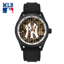 MLB time sq. trend sport lover' watch large face waterproof wristwatch silicone band  quartz  for women and men watches SD014