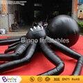 Gigante inflable de Halloween araña de Halloween inflables de dibujos animados colgando araña de halloween inflable 5 m grande negro araña de juguete