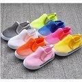 Crianças entalhe malha sandálias meia respirável doce cor sapatos sapatos buraco criança sandálias para meninas meninos caçoa as sapatilhas