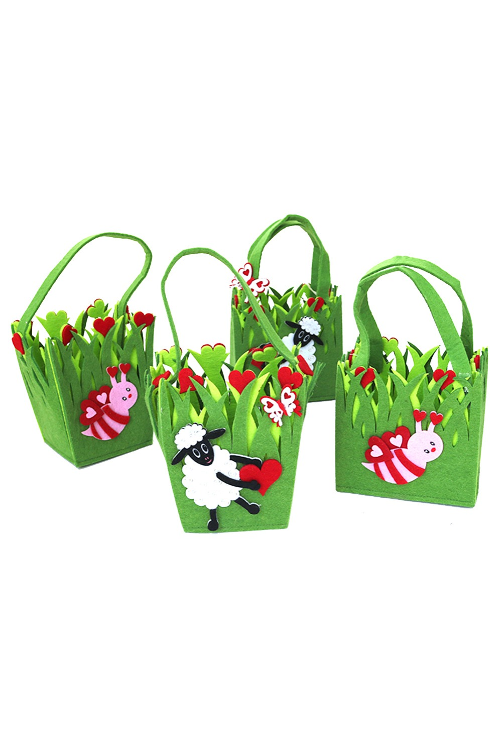 Easter Cosplay non-woven children candy bag hand bag gift bag (random delivery) Accessories