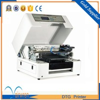 High Resolution Easy Operation A3 Size Textile Printer Digital DTG Printing Machine