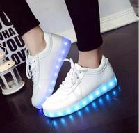 2108 NEW Style Luminous Sneakers Tenis Feminino Basket Led Enfant Light Up Trainers Kid Casual Boy&Girl Led Glowing Child shoes
