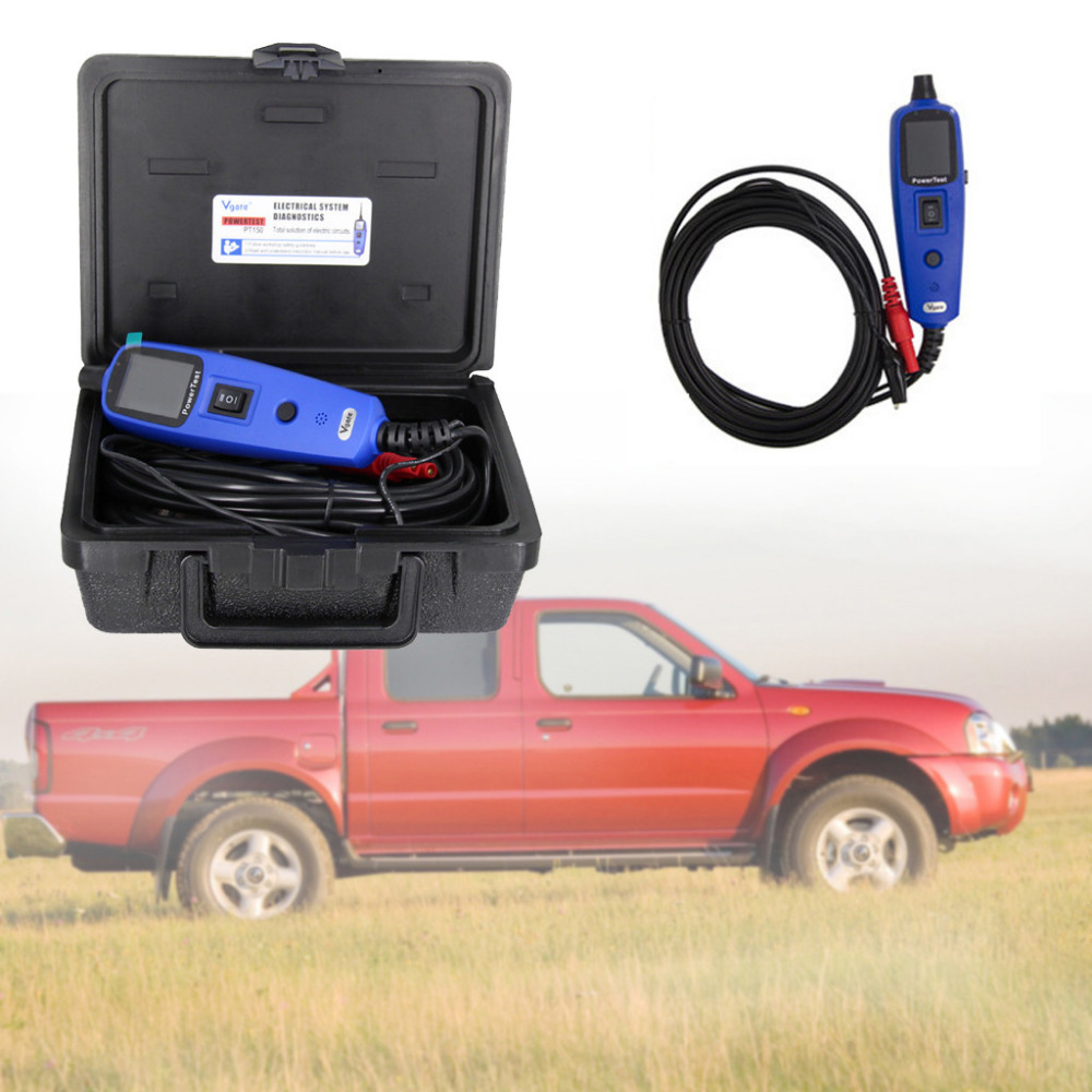 Vgate Test de puissance PT150 sonde de puissance voiture testeur de Circuit électrique Diagnostic automatique