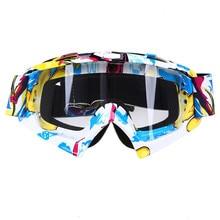 555ef826d9b Oculos Motocross Goggles Ski Snow Skate Glasses Helmet MX Mask Eyewears Sun  Glasses Collapsible For Motorcycle