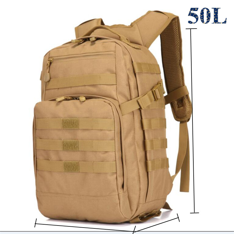 Mens bags backpack 3D waterproof bag 50 l multi-function military camouflage Female bag best backpack casual man free holograms