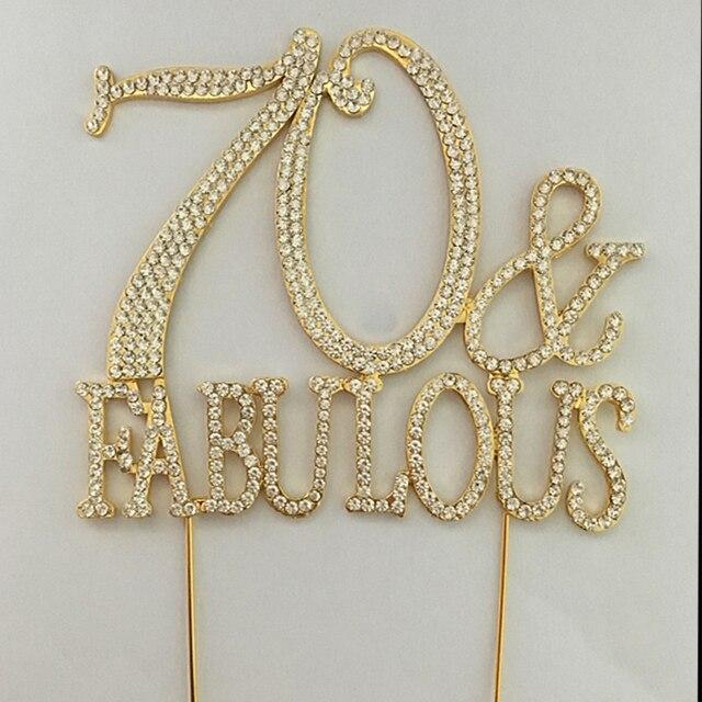 20 pieceslot high quality 70 fabulous rhinestone gold cake
