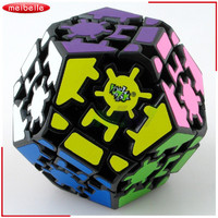 NewBrand New 12 superfícies Engrenagem Megaminx Magic Speed Enigma Cube Cubos Educacionais Brinquedo Juguete