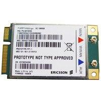 SSEA Desbloqueado Para Ericsson F5521gw WCDMA HSPA 3G Modems Sem Fio Mini PCI-E Card para lenovo X220 T420 T520 W520 E120 FRU: 60Y3255