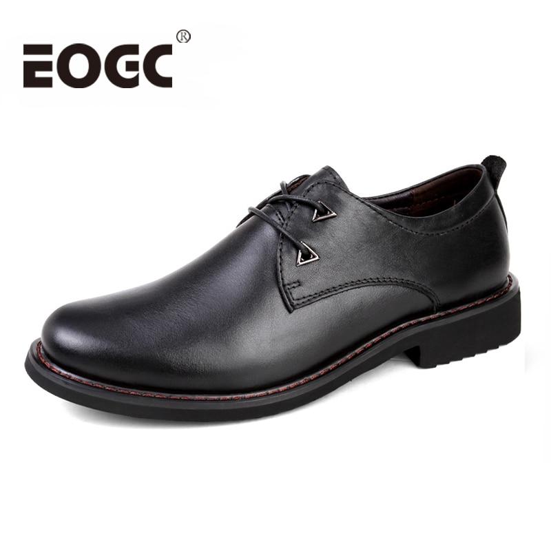 Visokokakovostni formalni čevlji moška oblačila čevlji iz pravega - Moški čevlji