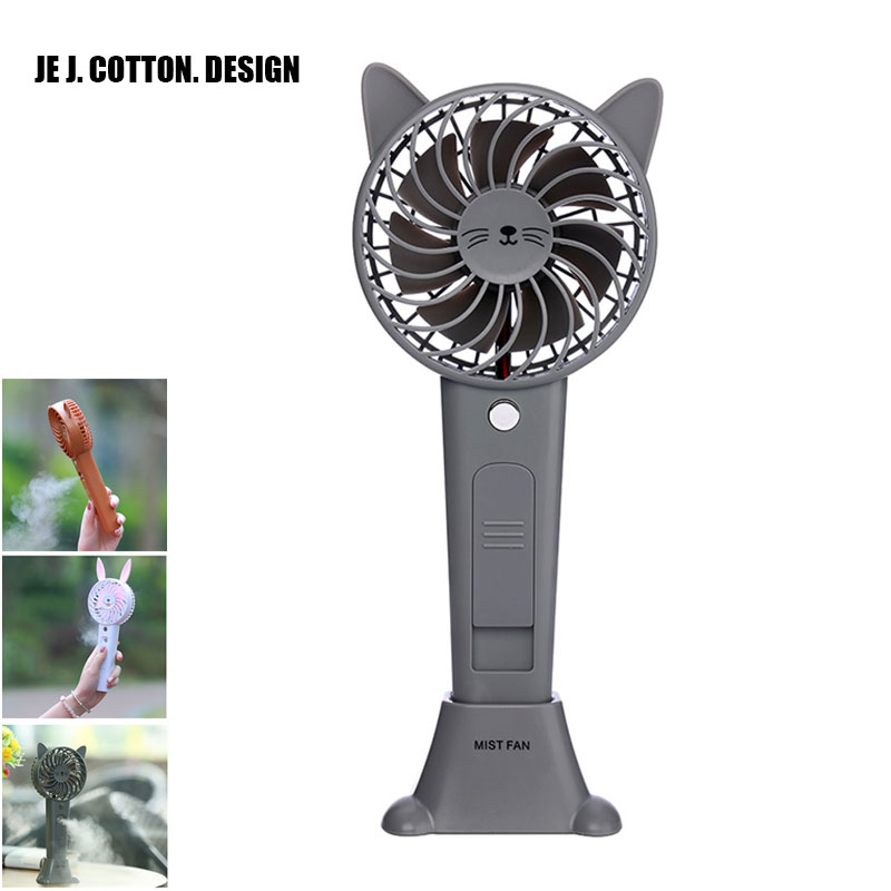 Heldhand Mist Fans <font><b>Air</b></font> <font><b>Conditioning</b></font> Ventilador for Home Outdoor <font><b>Portable</b></font> Animals <font><b>Air</b></font> Cooler USB Fan with Rechargeable Battery