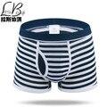 Venda quente Barato Novo Mr Marcas de Moda Sexy Boxers Shorts dos homens do Algodão Grande Genuíno Respirável Mans Underwear Underpant Masculino