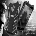 R-JUST Бэтмен сплава телефон Случае Для Meizu Pro 6 (5.2 дюймов) задняя крышка противоударный MEIZU MX6 Pro6 телефон защита shell обложка
