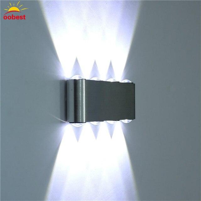 Charmant Modern Wall Lamp Bedroom Bathroom Led Wall Light For Home Lighting Up Down Wall  Sconce Lighting