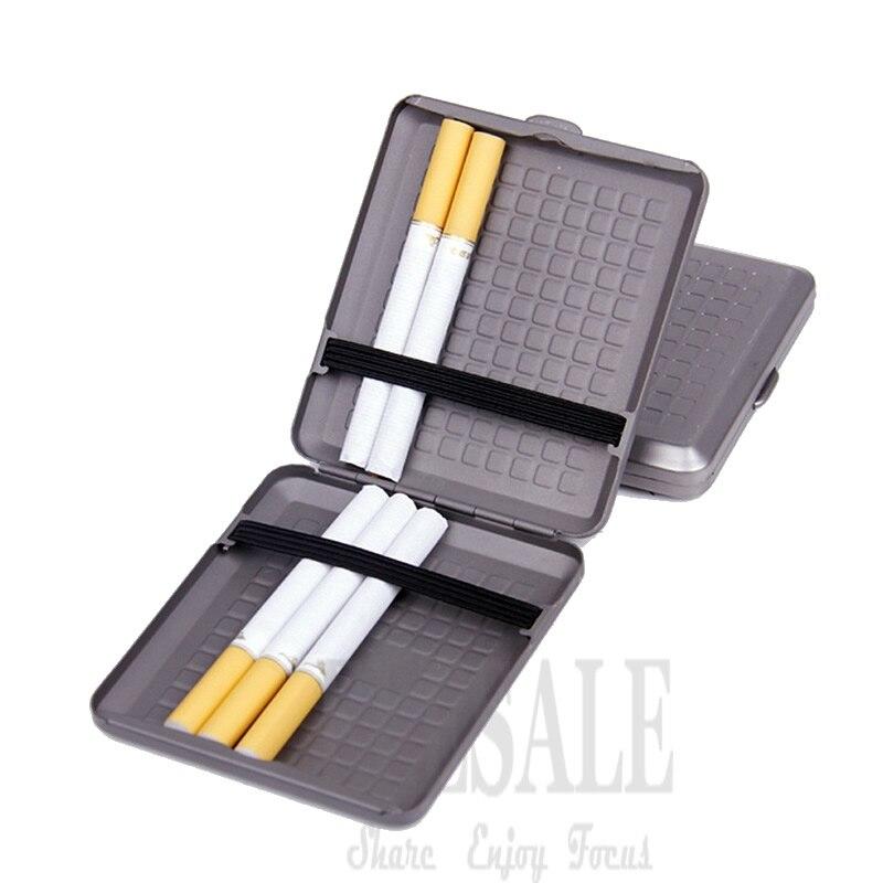 High Quality Portable Titanium Cigarette Case Cigar Holder Pocket Storage Safe Box Light Weight Outdoor EDC Tool