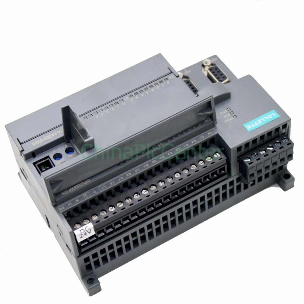 PLC LE-200 CPU224XP DC/DC/DC 2AD1DA 14 port input 10 port Transistor output  LES7 214-2AD23-0XB8
